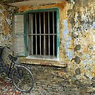 Bicycle, Hoi An, central Vietnam. by John Mitchell