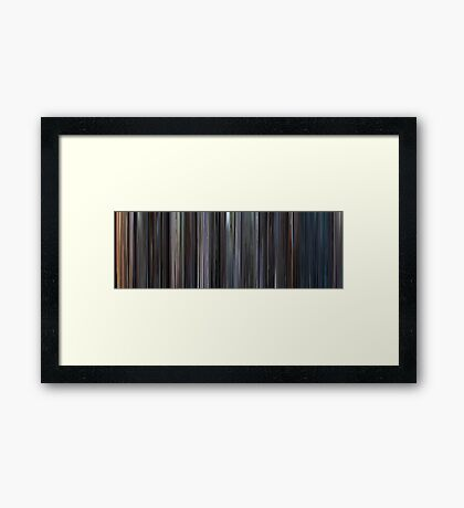 Moviebarcode: The Exorcist (1973) Framed Print