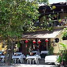 Hoi An cafe, central Vietnam. by John Mitchell