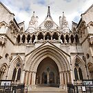 The Royal Courts of Justice by Adri  Padmos