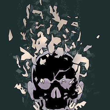 Skull X by pratt-face