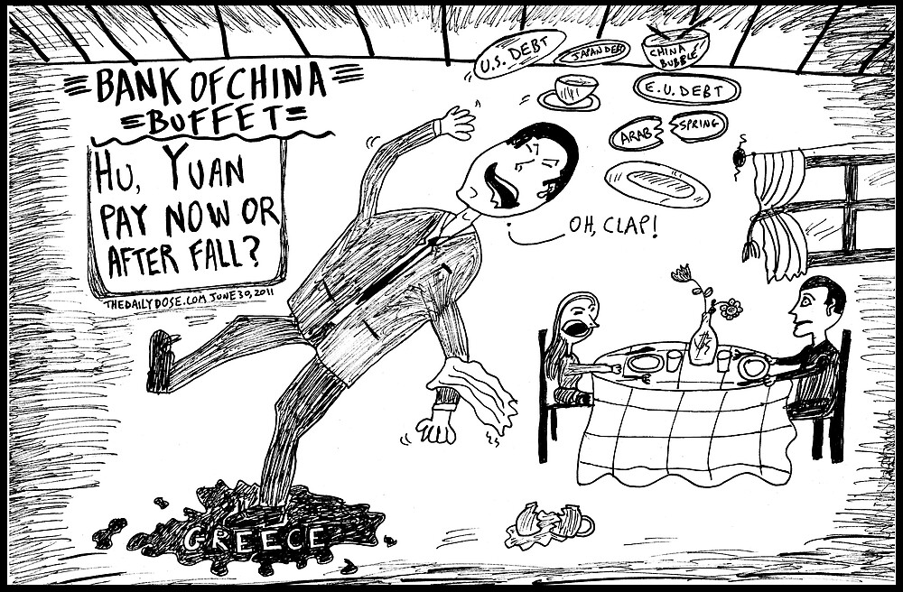 Slippery economics as a Chinese restaurant by bubbleicious