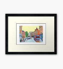 West Hampstead, London, UK Framed Print