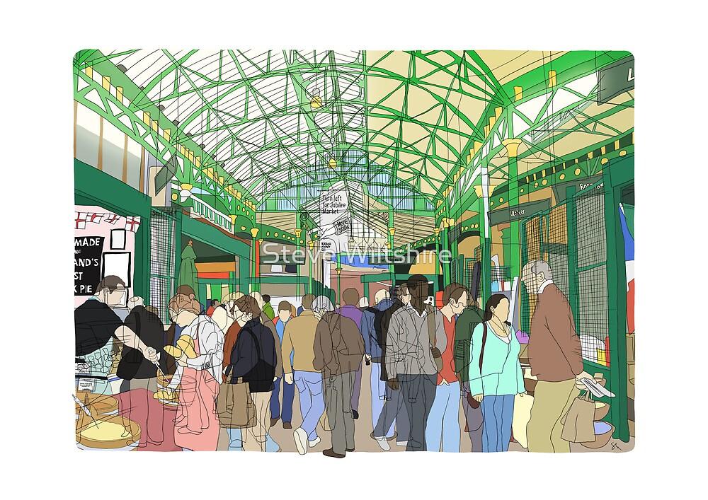 Borough Market, London, UK by Steve Wiltshire
