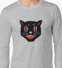 Vintage Black Cat Long Sleeve T-Shirt