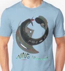 Boomerang Fighter Wing Warp T-shirt Design T-Shirt
