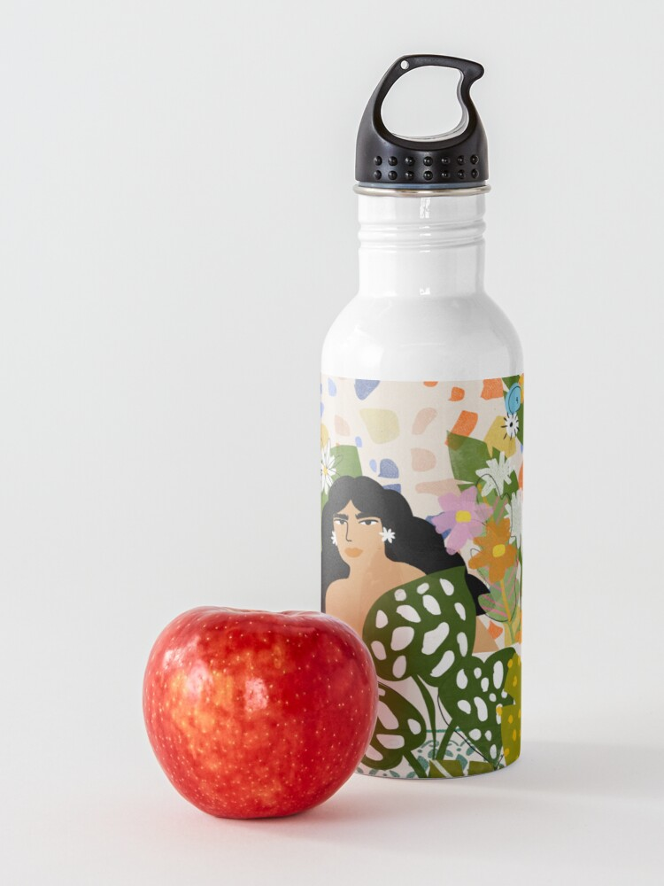 Alternate view of Bathing with Plants Water Bottle
