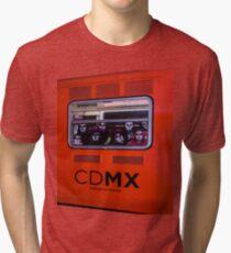 La Catrina Viaja en Metro CDMX 2151 Tri-blend T-Shirt