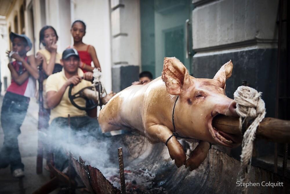 Spit roast Cuban style by Stephen Colquitt