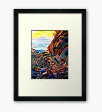 Spaces In Between, Framed Print