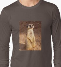 Meerly looking my very best for the camera . Long Sleeve T-Shirt