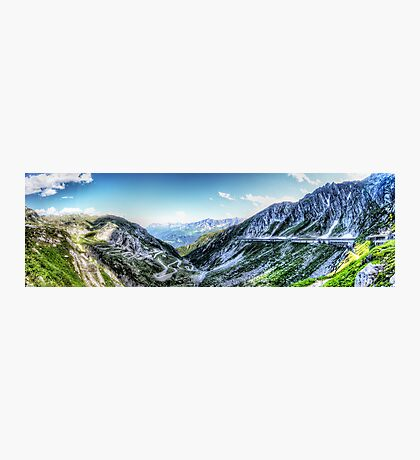 Gotthard Elbows Revisted - The HDR Panorama Photographic Print
