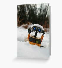 Wall-E Greeting Card