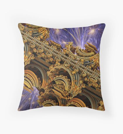 Bangkok Palace Throw Pillow