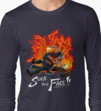 Suck Your Face Long Sleeve T-Shirt