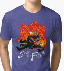 Suck Your Face Tri-blend T-Shirt