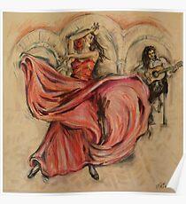Flamenco Rapido Poster