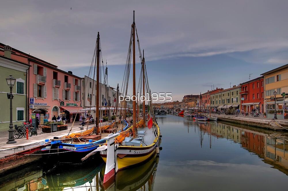 Leonardo da Vinci's Harbour - Cesenatico by paolo1955