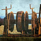 Rusted Winch ©  by Dawn Becker