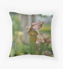 Flytrap Throw Pillow