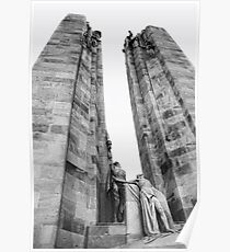 The Canadian National Vimy Memorial  Poster