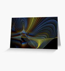 Octospiral Greeting Card