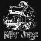 Morris Minor Damage (dark shirt) by contriviad
