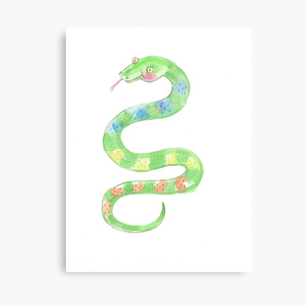 Pretty Snake Canvas Print