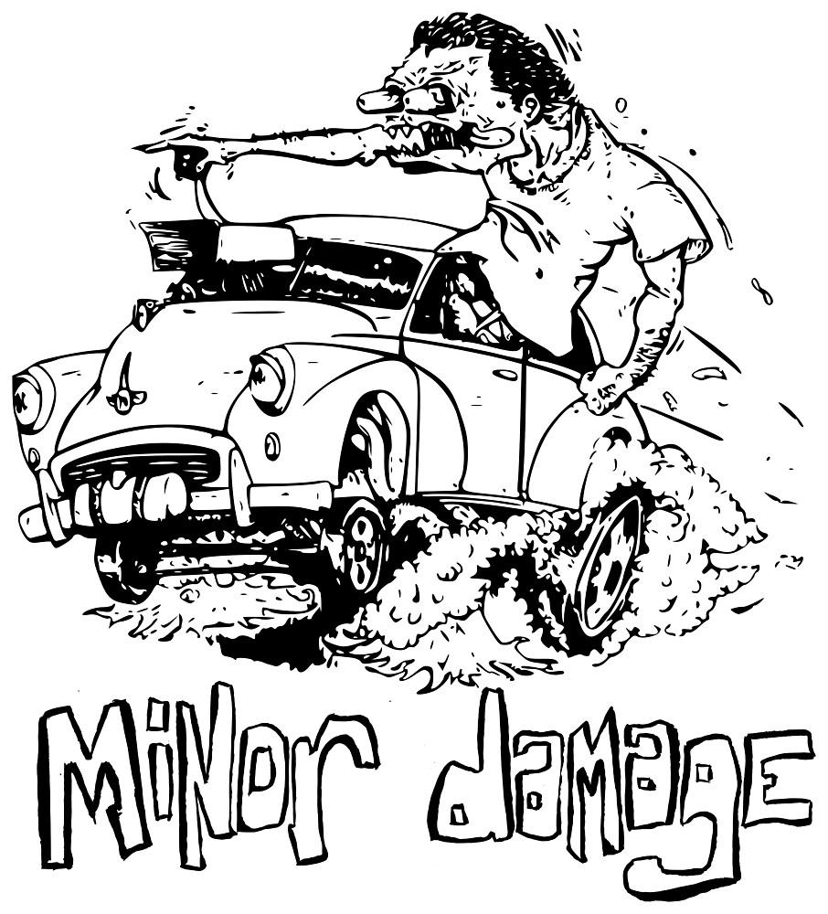 Morris Minor Damage by contriviad