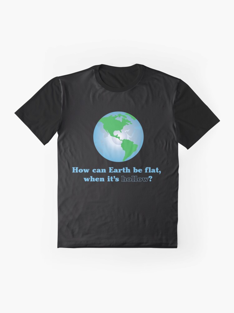 Alternate view of Hollow Earth Graphic T-Shirt