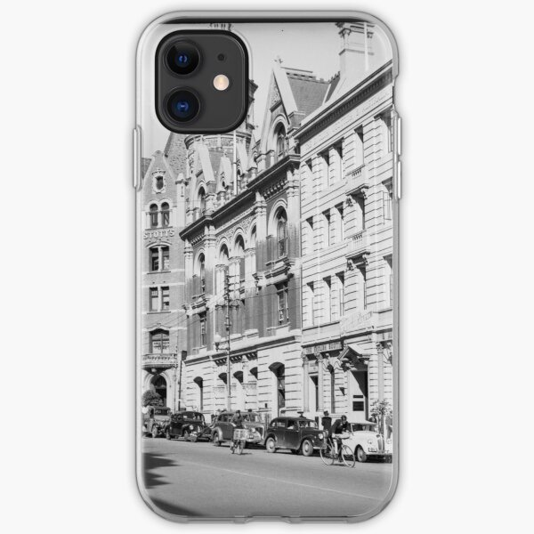 St George's Terrace, Perth, 1941, State Library of Western Australia iPhone Soft Case