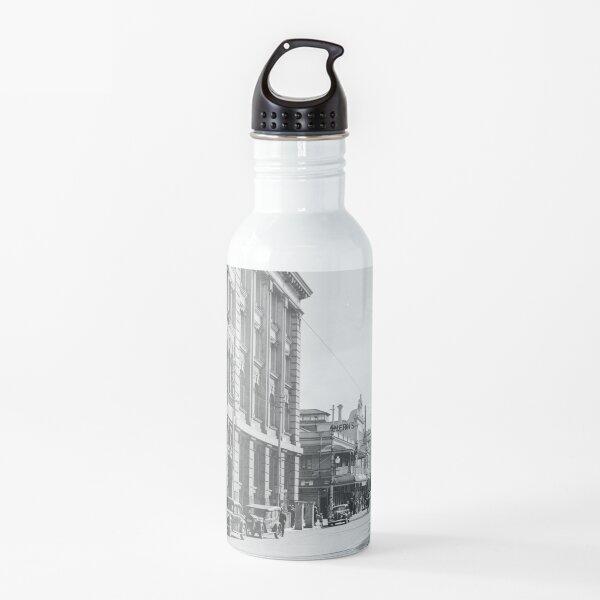 Murray Street crossing Barrack Street, Perth, 1941, State Library of Western Australia Water Bottle
