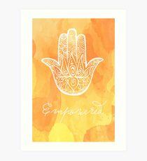 Solar Plexus Chakra - Empowered Art Print