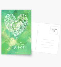 Heart Chakra - Loved Postcards