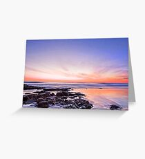 New Day Dawning - Coolum Cove Qld Greeting Card