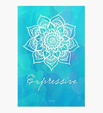 Throat Chakra - Expressive Photographic Print