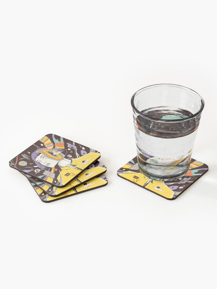 Alternate view of The Overthinker Coasters (Set of 4)