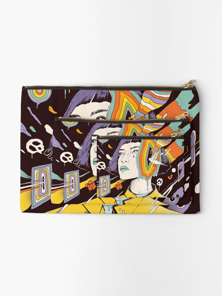 Alternate view of The Overthinker Zipper Pouch