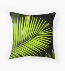 Palm Leaf ,Nth Queensland Throw Pillow