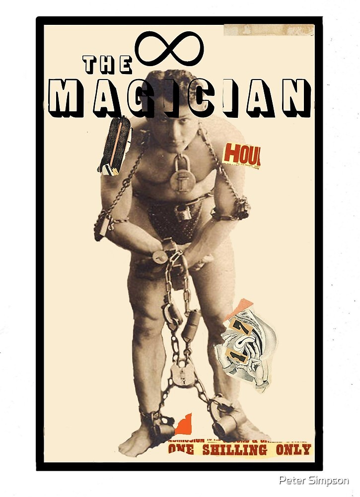 Dada Tarot-The Magician by Peter Simpson