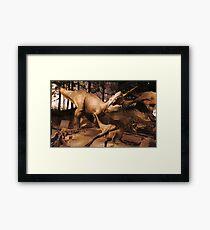 Special Albertosaurus Framed Print