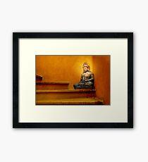 Steps to Enlightenment Framed Print