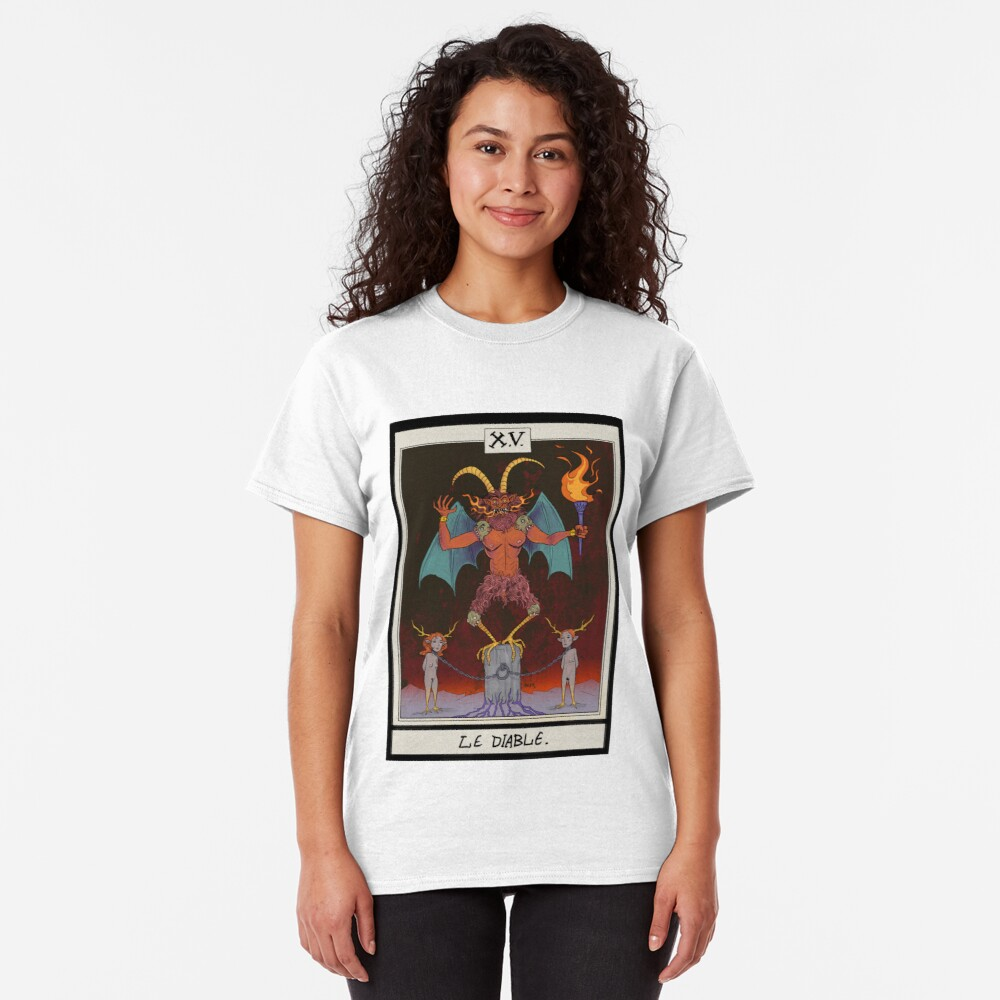 The Devil Card Classic T-Shirt