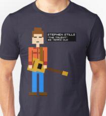 Stephen Stills - The Talent - 8-Bit Unisex T-Shirt