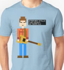 Stephen Stills - The Talent - 8-Bit T-Shirt