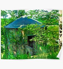 Stone hut Poster