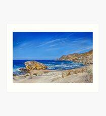 Monsul Beach - Playa Monsul Art Print