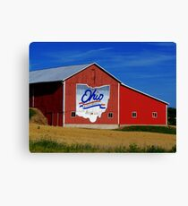 Ohio Bicentennial Barn Canvas Print
