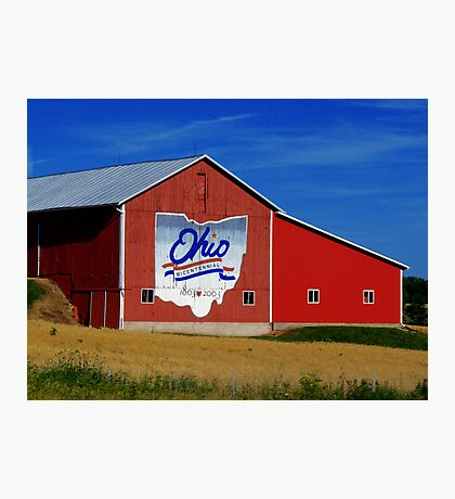 Ohio Bicentennial Barn Photographic Print