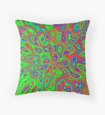 Summer Spirits in the Equalibrium | Abstract random colors #13a Throw Pillow